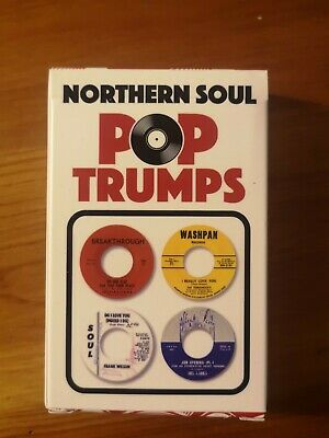 Northern Soul Pop Trumps - Wigan Casino Mecca Classics - Trunk Records • 15£