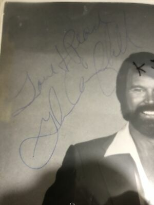Glen Campbell Hand Signed 10x8 Photograph • 90£