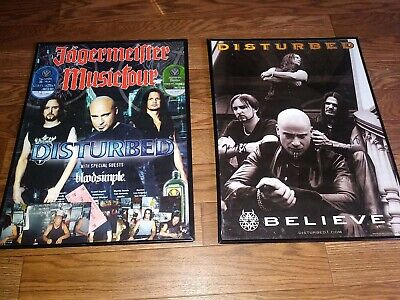 18 X 24  Disturbed (Concert/Tour Posters -one Poster Autographed By Band  • 39.34£
