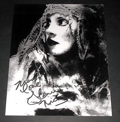 Stevie Nicks Pp Signed 10 X8  Photo Repro Fleetwood Mac • 5.49£