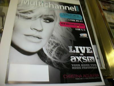 Multichannel News Magazine - Christina Aguilera • 12.66£