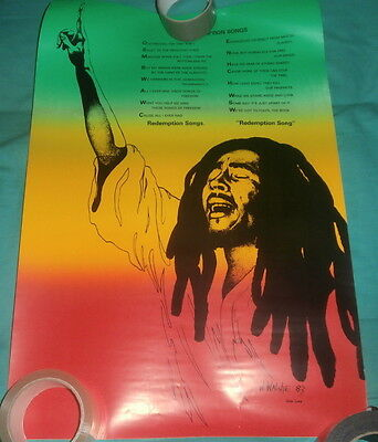 BOB MARLEY Redemption Songs Poster • 19.99£