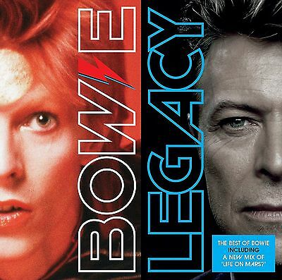 DAVID BOWIE LEGACY CD (Very Best Of) (New Release 2016) • 5.95£