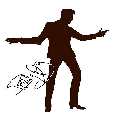 Billy Fury Silhouette And Autograph Design Car Decall/Sticker • 7.99£