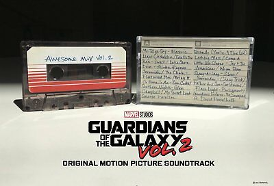 GUARDIANS OF THE GALAXY 2 AWESOME MIX VOL.2 CASSETTE TAPE Released 23/6/2017 • 10.25£