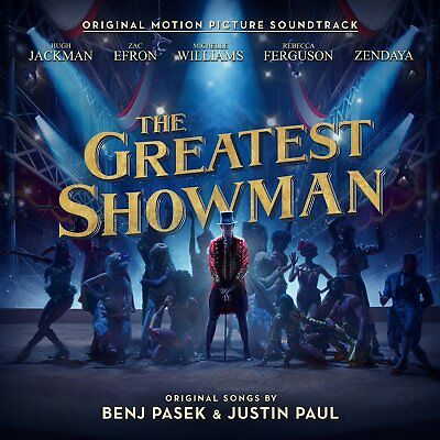 THE GREATEST SHOWMAN SOUNDTRACK CD (New Release 8/12/2017) • 5.75£