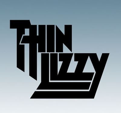 THIN LIZZY - Music Band Logo - Vinyl Decal Sticker For Cars, Laptops, Windows • 1.95£