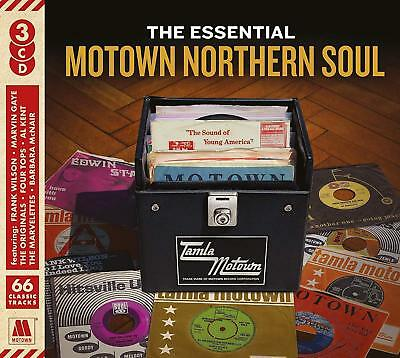 The Essential Motown Northern Soul 3 Cd Set - Various Artists • 4.75£