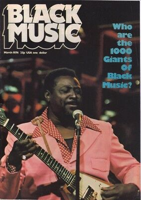 Black Music - Soul Magazine SELECT FROM Issue Mar 1974 To Nov 1976 • 5.99£