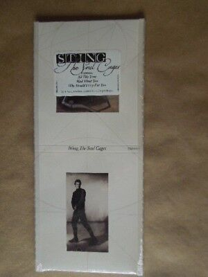 Sting - The Soul Cages - Cd Longbox Usa - Sealed Mint • 50.06£