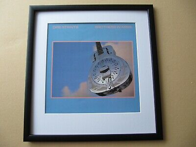 DIRE STRAITS Alchemy - Brothers In Arms - Making Movies FRAMED ALBUM COVER • 45£