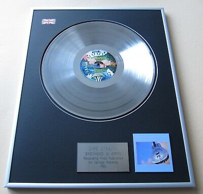 DIRE STRAITS Brothers In Arms PLATINUM PRESENTATION DISC • 109£
