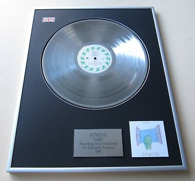 GENESIS Duke PLATINUM PRESENTATION DISC • 89£
