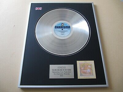 GENESIS Selling England By The Pound PLATINUM PRESENTATION DISC • 89£