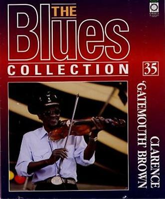Clarence 'Gatemouth' Brown Blues Magazine With Free CD • 11.77£