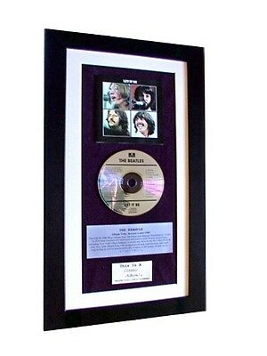 THE BEATLES Let It Be CLASSIC CD Album QUALITY FRAMED!! • 44.95£