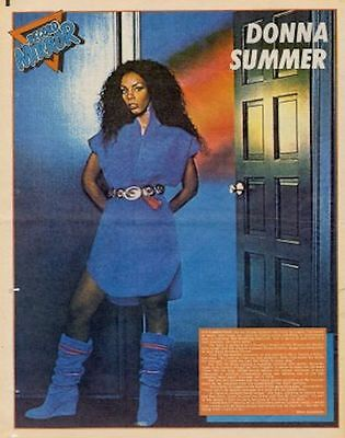 Donna Summer Poster/article 1982 • 11.77£