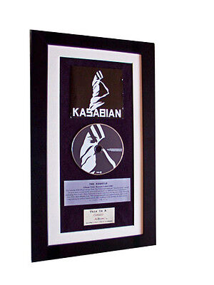KASABIAN Debut 1st CLASSIC CD Album QUALITY FRAMED-GIFT • 44.95£