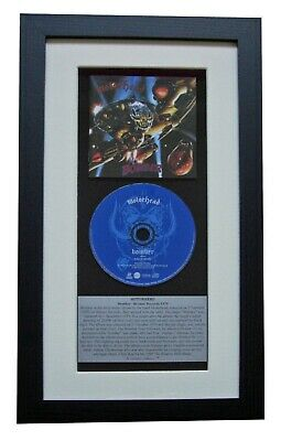 MOTORHEAD Bomber CLASSIC CD GALLERY QUALITY FRAMED+EXPRESS GLOBAL SHIPPING • 44.95£