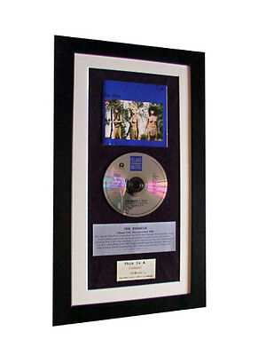THE SLITS Cut CLASSIC CD Album GALLERY QUALITY FRAMED!! • 44.95£