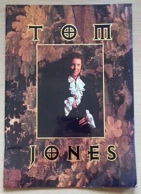 Tom Jones - Concert/Tour Programme - 1994 • 9.99£