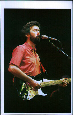 Eric Clapton Poster Page . 1983 Hammersmith Odeon London Concert . V11 • 5.99£