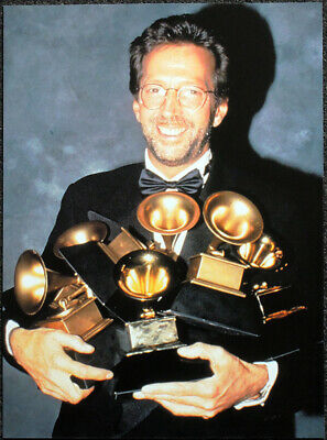 Eric Clapton Poster Page . 1993 Grammy Awards . L23 • 5.99£