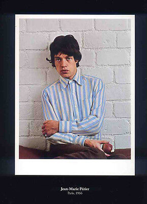 Mick Jagger Poster Page 1966 The Rolling Stones . F4 • 6.99£