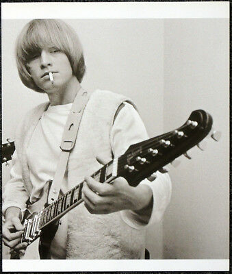 The Rolling Stones Poster Page 1965 Brian Jones & Gibson Firebird Guitar . I103 • 5.99£