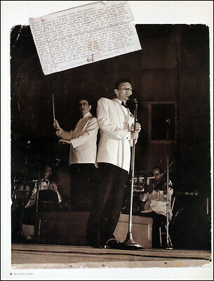 Frank Sinatra Poster Page . 1943 New York Philharmonic Orchestra . 10q2 • 5.99£