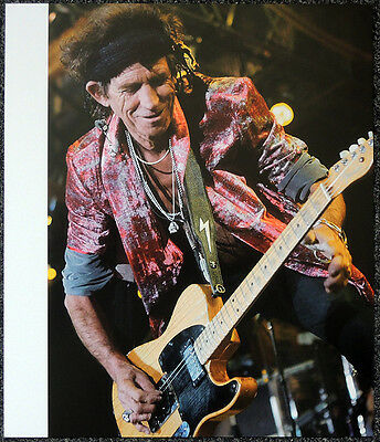 The Rolling Stones Poster Page Keith Richards . Y103 • 5.99£