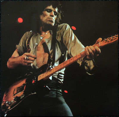 The Rolling Stones Poster Page . Keith Richards & Fender Telecaster Guitar . E20 • 6.99£