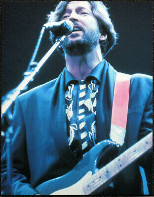 Eric Clapton Poster Page . L22 • 5.99£