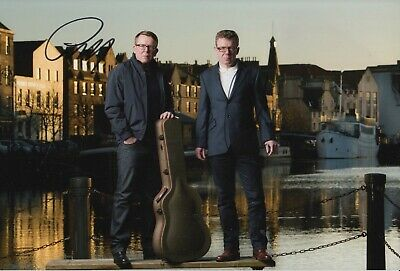 The Proclaimers Hand Signed 12x8 Photo - Music Autograph. • 39.99£