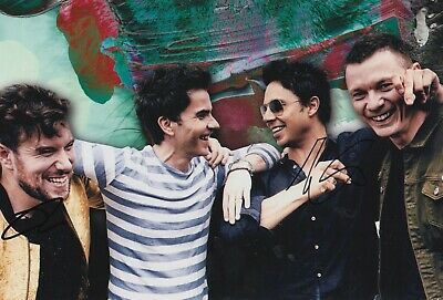 Stereophonics Hand Signed 12x8 Photo - Music Autograph 3. • 39.99£