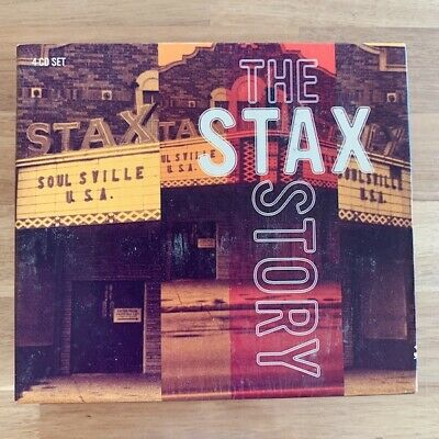 The Stax Story - Various Artists - 4 CD Box Set - Very Good Condition • 19.99£