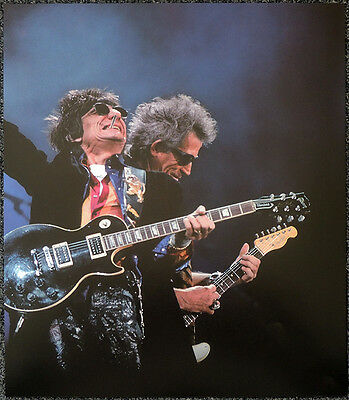 The Rolling Stones Poster Page Keith Richards & Ron Wood . Y95 • 6.99£