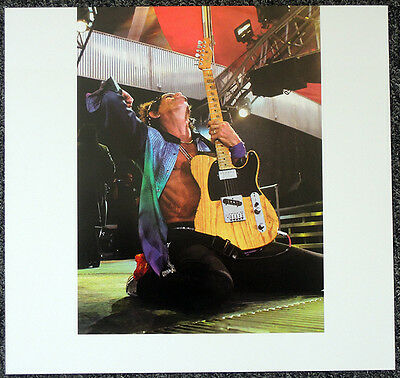 The Rolling Stones Poster Page Keith Richards . Y102 • 6.99£