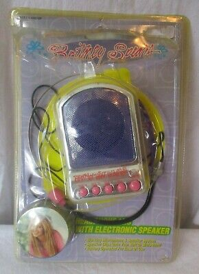 RARE 2000 Britney Spears Heaphone Mic With Electronic Speaker  • 150.09£