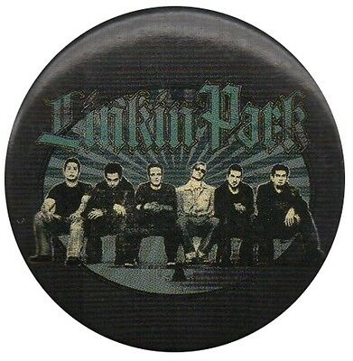 Official Linkin Park LP Green Logo Band Photo Badge 1.5 Inch 38mm  • 0.99£
