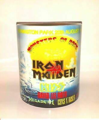 Iron Maiden Monsters Of Rock Castle Donington 1988 Mug • 9.99£