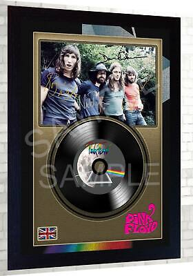 Pink Floyd David Gilmour  MUSIC  SIGNED FRAMED PHOTO LP Vinyl Perfect Gift #5 • 19.99£
