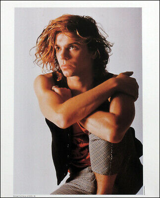 Michael Hutchence Poster Page . 1988 Inxs . 5q16 • 8.99£