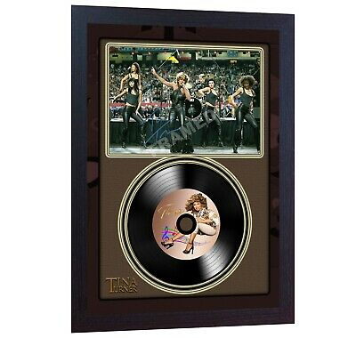 NEW! Tina Turner  MUSIC  SIGNED Autographed FRAMED PHOTO LP Vinyl Perfect Gift • 19.99£