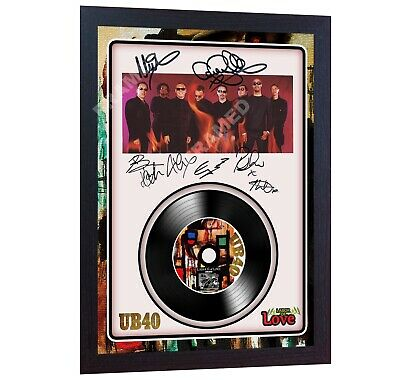 Labour Of Love UB40  MUSIC  SIGNED FRAMED PHOTO LP Vinyl Photo Poster • 18.99£