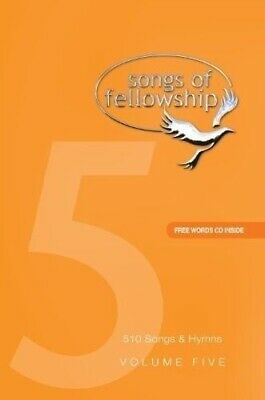 Songs Of Fellowship 5 Music Edition + Disc • 24.99£