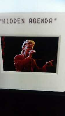 Original Rare Photo Slide 35mm Negative Of David Bowie • 25£