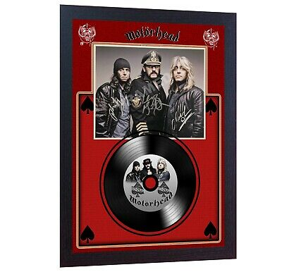 NEW! Motorhead Ace Of Spades MUSIC SIGNED FRAMED PHOTO LP Vinyl  • 18.99£