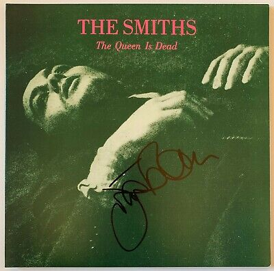 Johnny Marr Hand Signed The Smiths Vinyl - Music Autograph The Queen Is Dead. • 199.99£