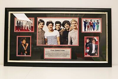 One Direction Black Matted Photo Frame - NEW And Untouched • 9.99£